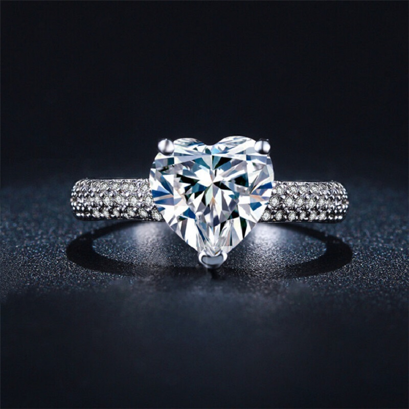 Vintage Engagement Ring Geometry Women Cheap Fashion Jewelry