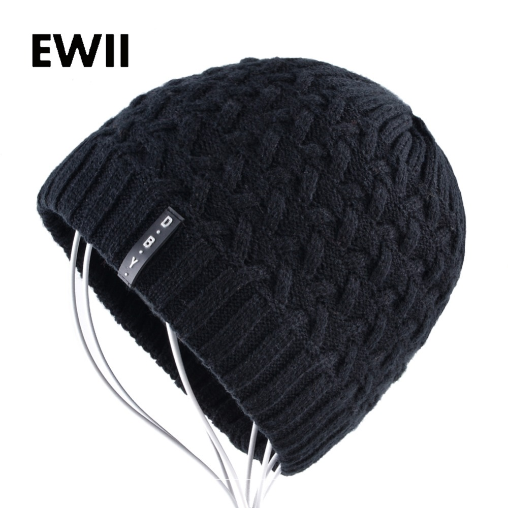 Mens beanies hat knit beanie cap women skullies beanies for men winter wool hats women bonnet knitted warm caps gorro feminino wool hat women warm winter hats solid flower thick knitted lady beanies hat skullies bonnet femme bucket cloche winter cap 2017