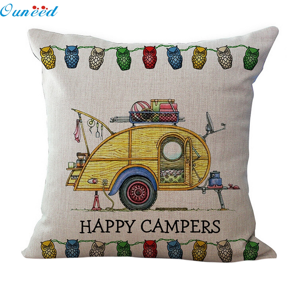 Fashion Pillow Case Homey Design 1PC Homey Deisign Sofa Waist Throw Cushion Pillow Cover Home Decor Factory 2017 O10