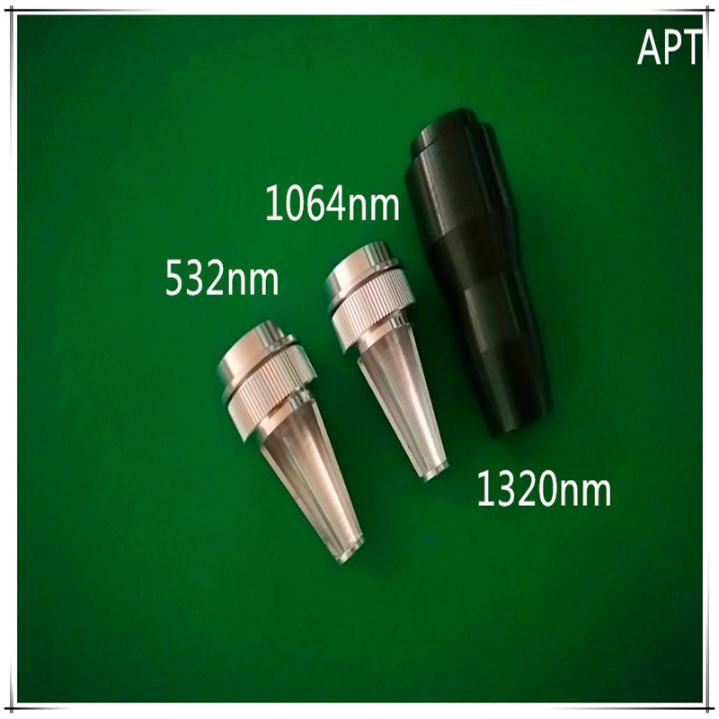 532nm/1064nm/1320nm probe for laser removal instrument