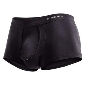 Image 5 - New Fashion Bullet Separation Underwear Function Male Scrotum Support Vein Modal Bag Varietal Mens Boxer Mens Sexy Underwear