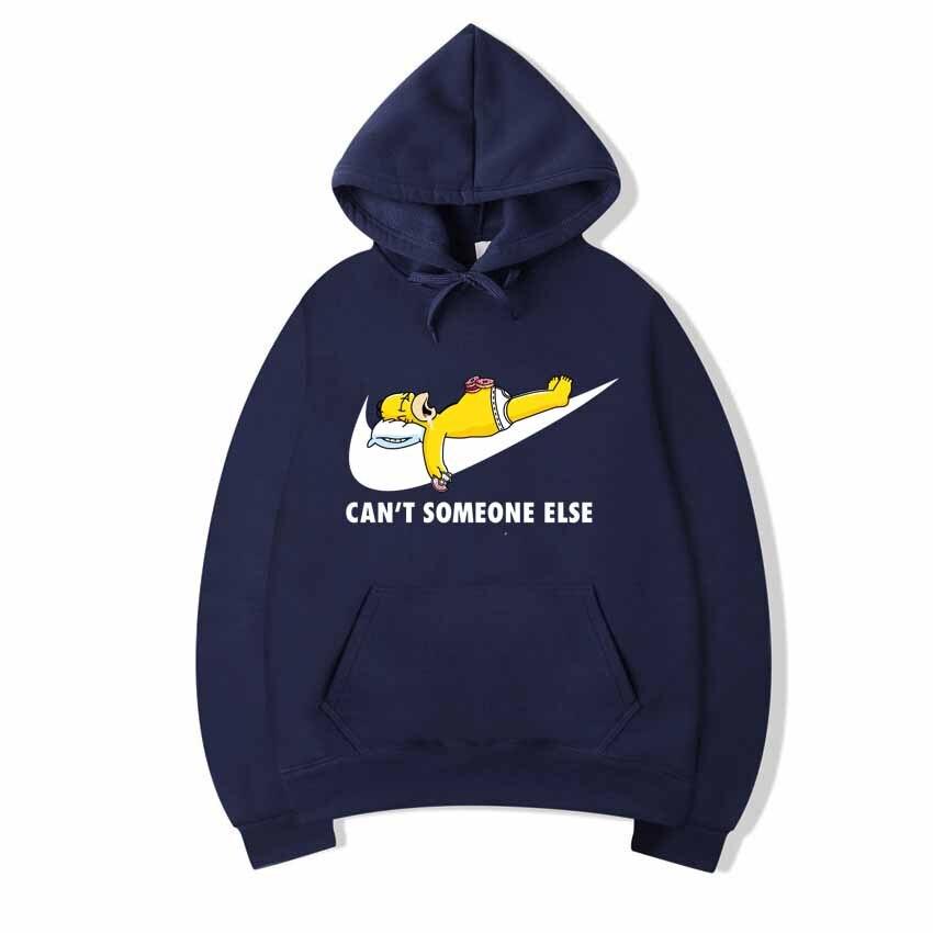 2018New High JUST BREAK IT Printed Sportswear Men Sweatshirt Hip-Hop Simpson Male/Female Hoodeds Hoodies Pullover Hoody Clothin