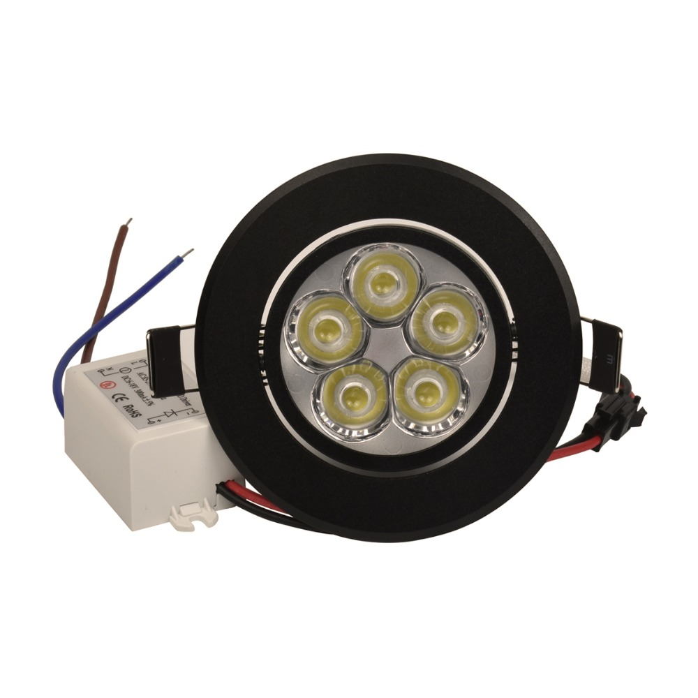 Downlights dimmable 110 v 220 v Material : Alumínio