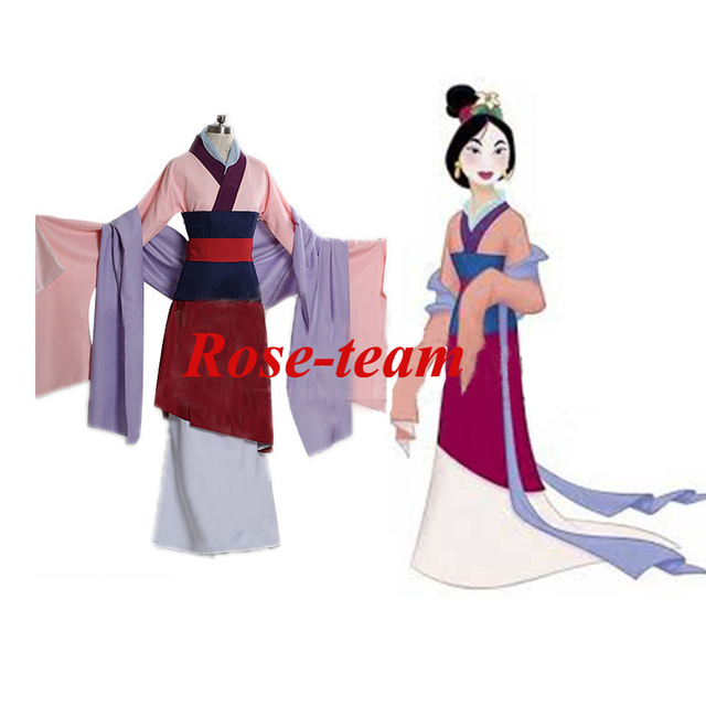 Rose team fantasia anime cosplay adult womens hua mulan princess rose team fantasia anime cosplay adult womens hua mulan princess dress costume fantays carnival halloween solutioingenieria Image collections