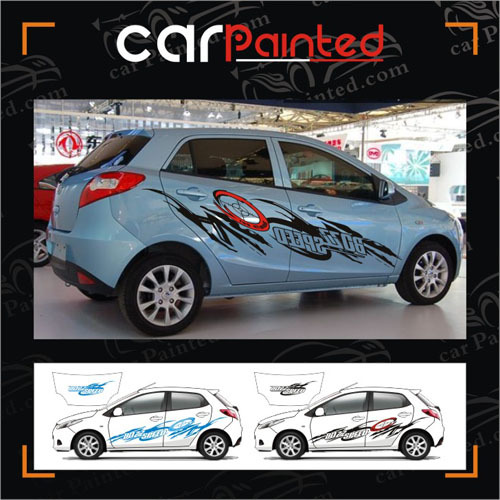 Diy car garland personalized letter totem whole car stickers speed car decals hot wheels vehicle decals paint protection on aliexpress com alibaba