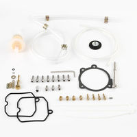 Carburetor Master Card Rebuild Kit For Harley Sportster 883 1200 Custom XL1200C XLH1200 XL883 90 18 motorcycle