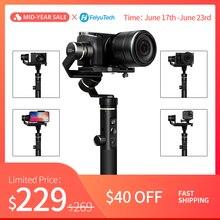 FeiyuTech G6 Plus 3-Axis G6P ручной шарнирный стабилизатор для камеры GoPro Для беззеркальных Камера GoPro смартфонов Полезная нагрузка 800g Feiyu G6P