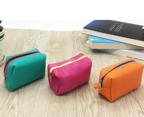 2018 Franbrani Korean impression solid purse coin bag fabric embroidery collect packet Key Coin wallet