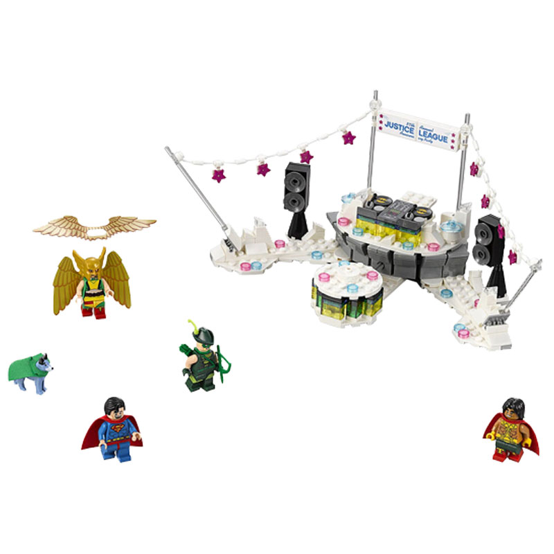 Batman Justice League Anniversary Party Building Blocks kit Bricks Set Movie Model Kids Classic Toys Marvel Compatible Legoe