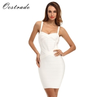Ocstrade Women Summer Dress 2017 New Arrival Fashion Sexy Ladies Clothes Spaghetti Strap Rayon Bodycon Yellow
