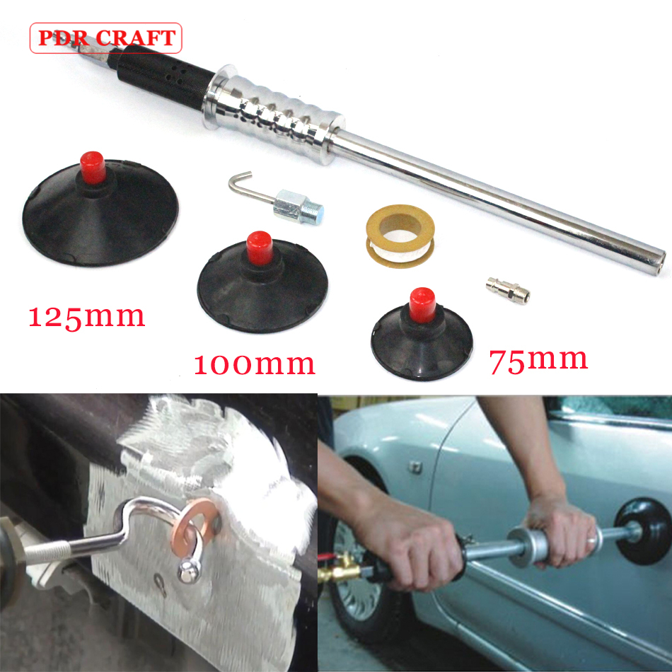 Pneumatic Dent Puller with 3 suction cups Air dent puller tools