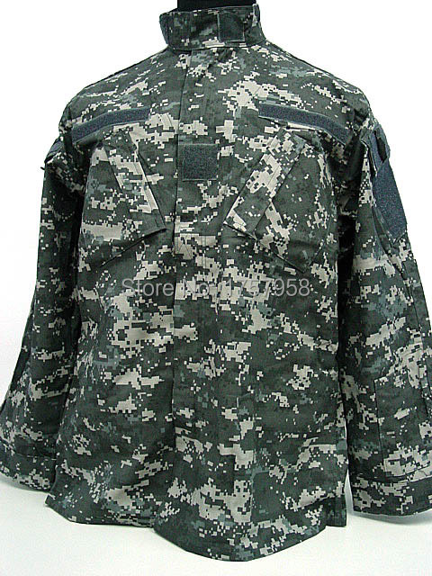 USMC Army Digital Urban Camo ACU Style Uniform Set Digital Urban Camo Shirt and Pants usmc digital urban camo v3 bdu uniform set war game tactical combat shirt pants ghillie suits