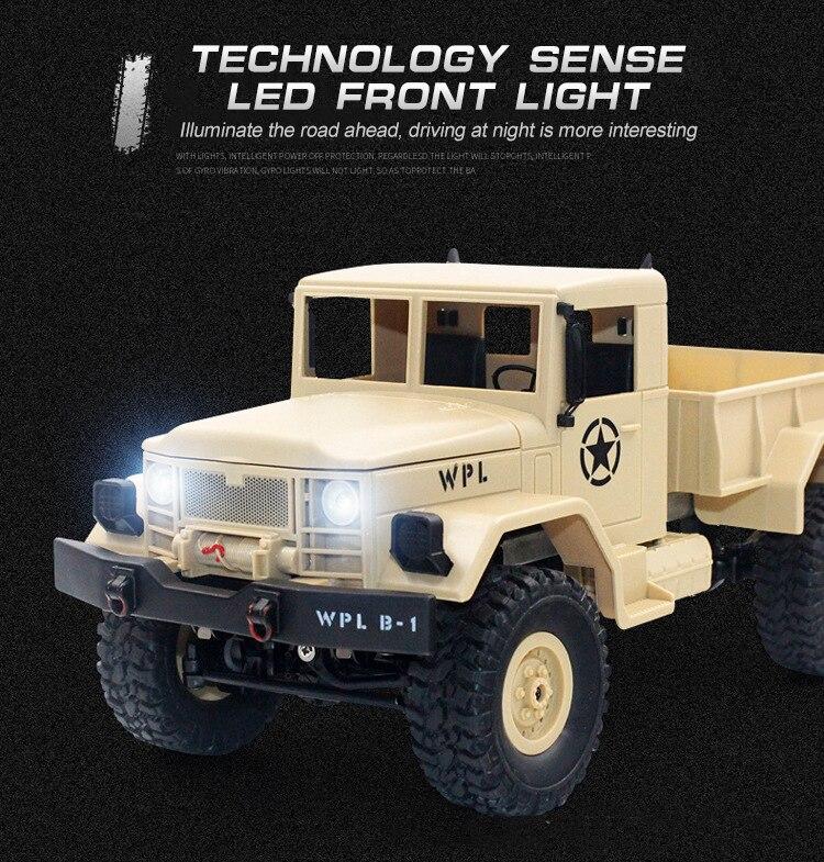 4WD militaire les 2.4G 11