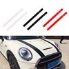 JEAZEA dWm2754536 czarny biały czerwony Vinyl samochodów Bonnet paski kaptur naklejka pokrywa dla MINI Cooper R50 R53 R56 R55
