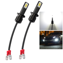 Katur 2 sztuk Super Bright H1 LED żarówki Led jazdy światła do jazdy światła przeciwmgielne lampa samochodowa LED 6000K biały High Power 3570 CSP