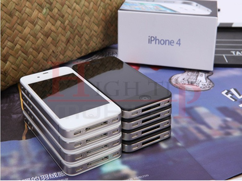 Sealed Apple iPhone 4 iOS 8GB 16GB 32GB ROM 3.5 inches 5MP Camera WIFI GPS Cell Phone 16gb black 4