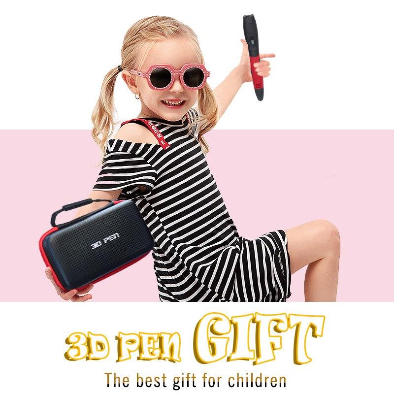 3d stylo 3d stylos, 1.75mm ABS/PLA Filament, 3 d stylo 3d modèle, creative 3d impression stylo, nouvelle Année cadeau de noël cadeaux d'anniversaire - 2