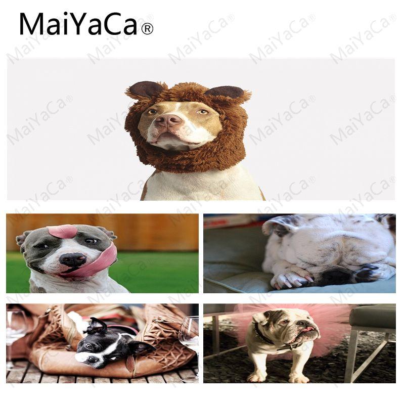 MaiYaCa питбуль DIY Дизайн узор игры Lockedge коврик Размеры для 30x90 см Скорость версия игровые коврики