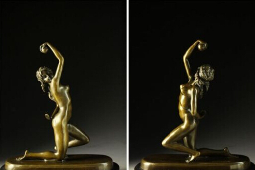 Art Deco Sculpture Sexy Beautiful Naked Woman Nude Girl Hold Ball Bronze Statue decoration bronze factory outletsArt Deco Sculpture Sexy Beautiful Naked Woman Nude Girl Hold Ball Bronze Statue decoration bronze factory outlets