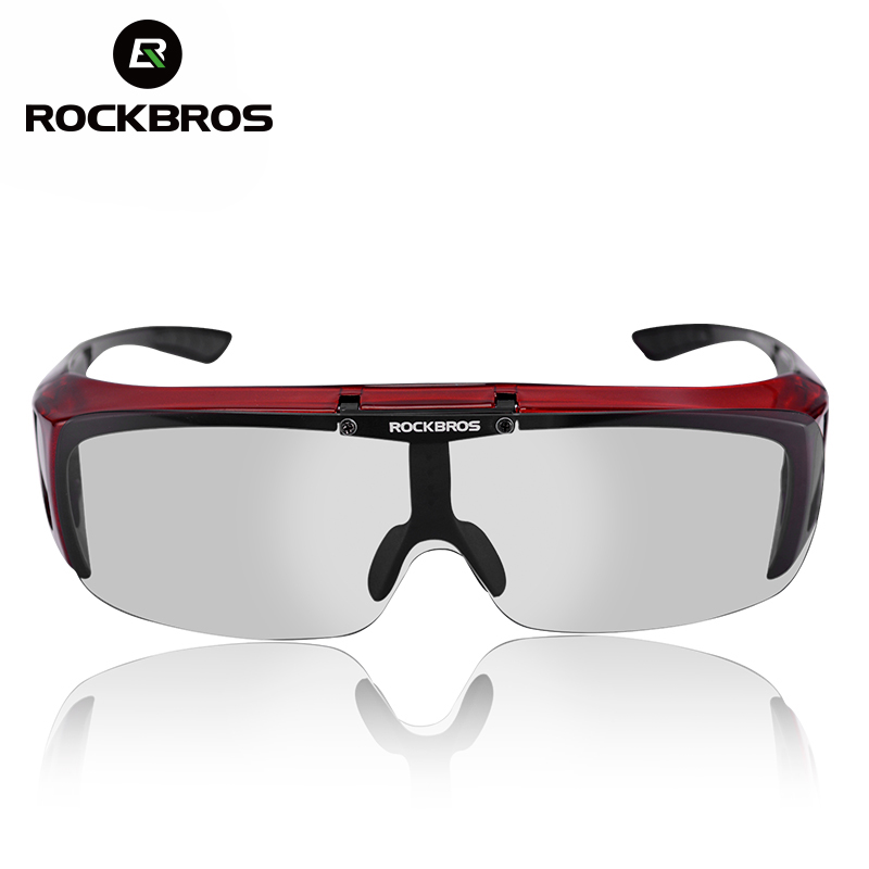 ROCKBROS Bicycle Polarized Glasses Anti-UV Outdoor Sports Cycling Sunglasses MTB Bike Goggles For Myopia Glasses Unisex New free soldier outdoor sports tactical polarized glass men s shooting glasses airsoft glasses myopia for camping