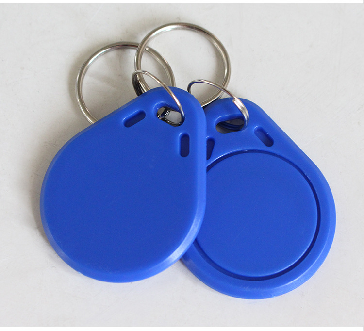 30 Pcs  RFID Chip Ring Tags Keytag 13.56MHZ  Writable Readerable  IC Blank Key Tag
