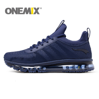 ONEMIX Air Cushion Running Shoes For Men Sports Shoes Breathable Light Crosser Fitness Outdoor Jogging Sneakers Max 12