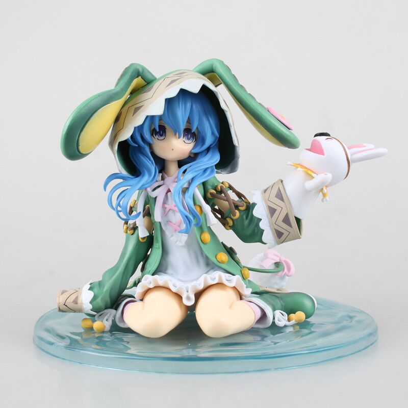 Japanese Anime Figures Date A Live Yoshino 1/7 Scale <font><b>Sex</b></font> Figurine Toys <font><b>Doll</b></font> PVC Action Figure Collectible Toys For Men <font><b>15CM</b></font> image