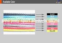 10 м/шт. 350lb плоским версия свмпэ волокна кос подводной охоты пистолет барабанный линии 1.2 мм 4 ткань из бечёвки