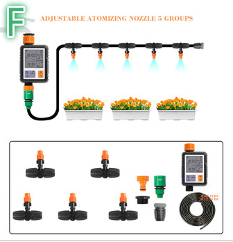 New Autowatering Drip Irrigation System Plant Watering Irrigazione Automatica Components Watering Timer Auto Watering Plants Set