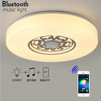 New Mobile Phone Bluetooth Audio Lighting Led Ceiling Light APP Intelligent Wireless Remote Control Dimming N1242