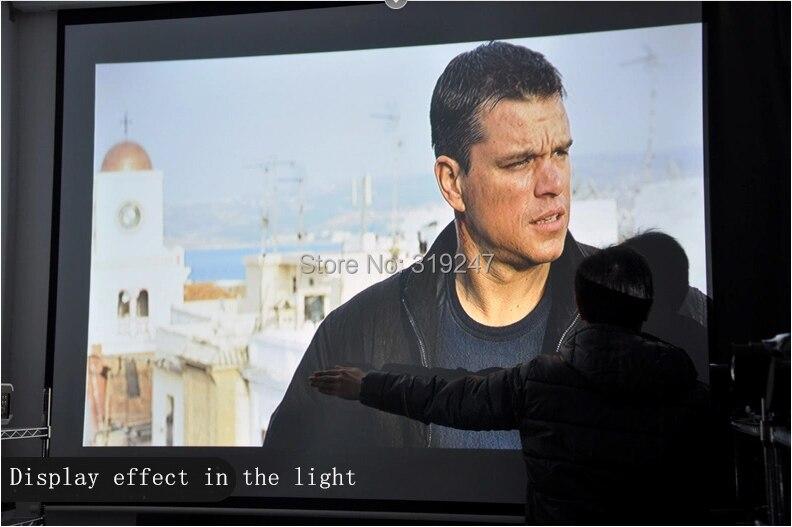 Идеальный светодиодный проектор, встроенный в andorid 4,42 Full HD 5500 люмен с HMDI USB TV проектор для домашнего кинотеатра - 5