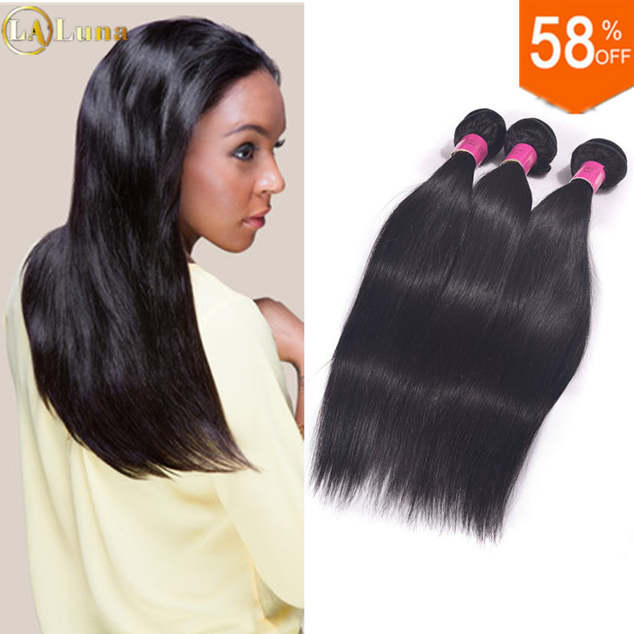 Straight hair perm products - Brazilian Virgin Hair Straight 3 4 Bundles Lot Unprocessed Brazilian Hair Weave Bundles 100 Human Hair Brazilian Straight Hair