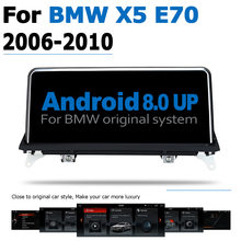 10.25 6-Core Android 8.0 up Car DVD Player For BMW X5 E70 2006~2010 CCC Autoradio GPS Navigation Multimedia