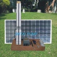 2 года гарантии Солнечный водяной насос, солнечный скважинный насос системы, dc насос для глубоких скважин, No модели: JC3-4.2-54