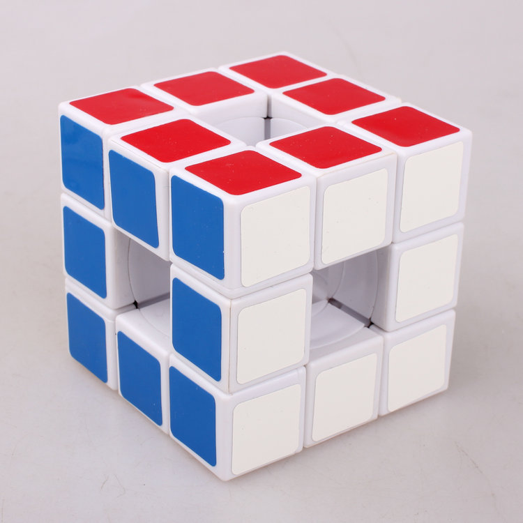 LanLan Hollow Cube 3x3x3 Magic Cube Puzzle Toys