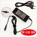 Para samsung np350v5c np355v5c np355e7c np365e5c spa-v20 bateria do laptop carregador/adaptador ac 19 v 4.74a 90 w