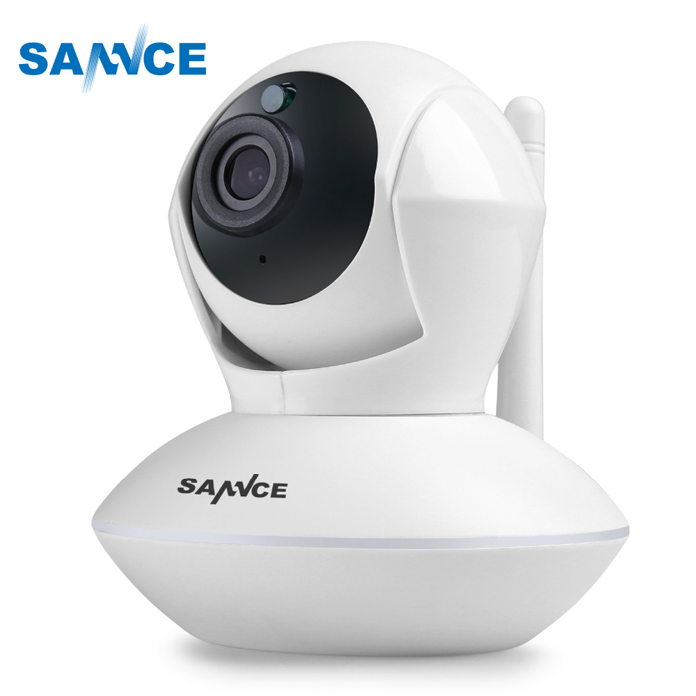 SANNCE IP Camera 915MHz 720P Baby Monitor Smart font b Wireless b font Alarm Pan Tilt