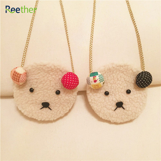 Reether Girls Cute Lamb Coin Purse Children's Shoulder Bags Cartoon Sanck Package Kids Wallet Cash Pouch Bag Decoration Gifts