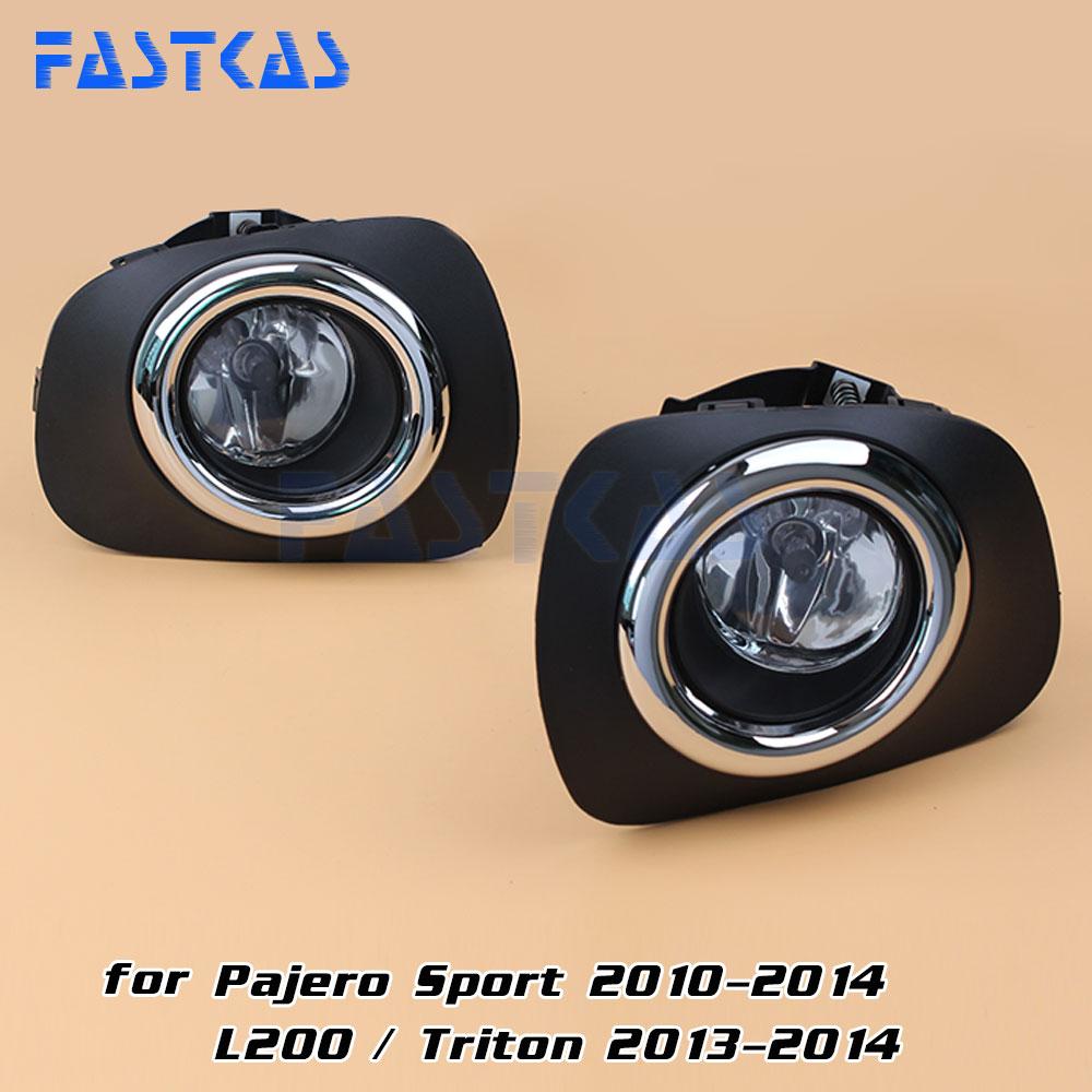 Fog light for mitsubishi pajero sport 2010 2014 l200 triton 2013 2014 left