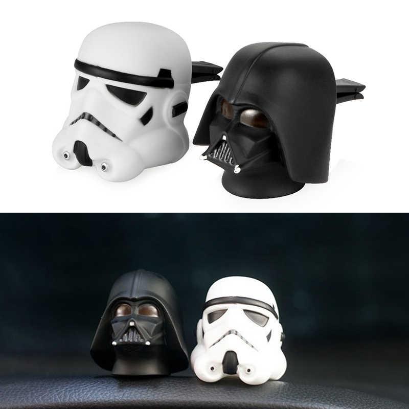 Voiture désodorisant mignon Vent parfum pince pour Star Wars Automobile intérieur Baymax poupée parfum odeur diffuseur accessoires cadeau