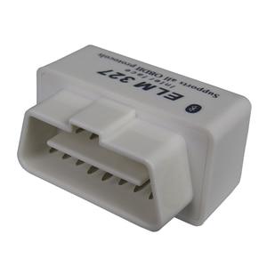 Image 5 - Mini Elm327 Bluetooth Obd2 Car Diagnostic Scanner For Android Elm 327 V2.1 OBDII elm 327 Obd 2 White Auto Code Diagnostic Tool