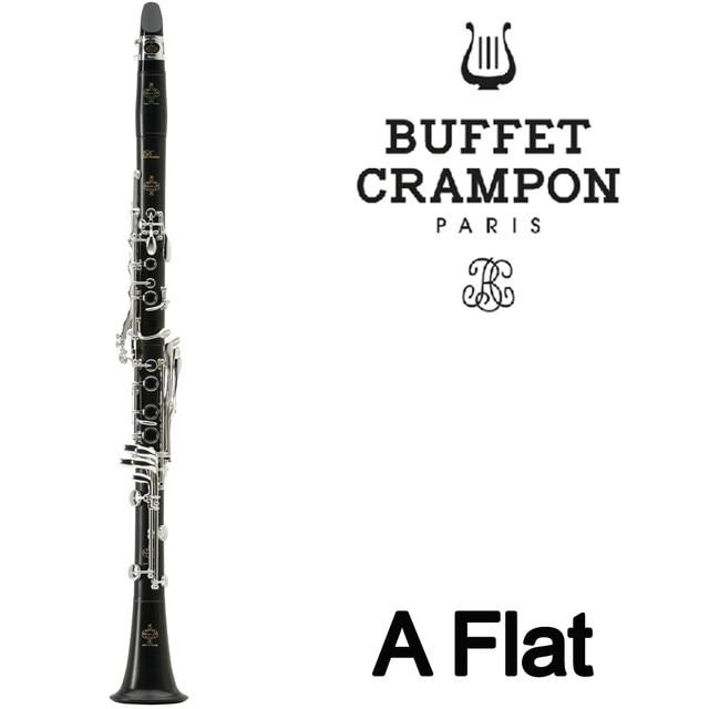 Brand New Buffet A Flat Crampon Professional Ebony Wood Clarinet Sandalwood Clarinet Student Model Bakelite