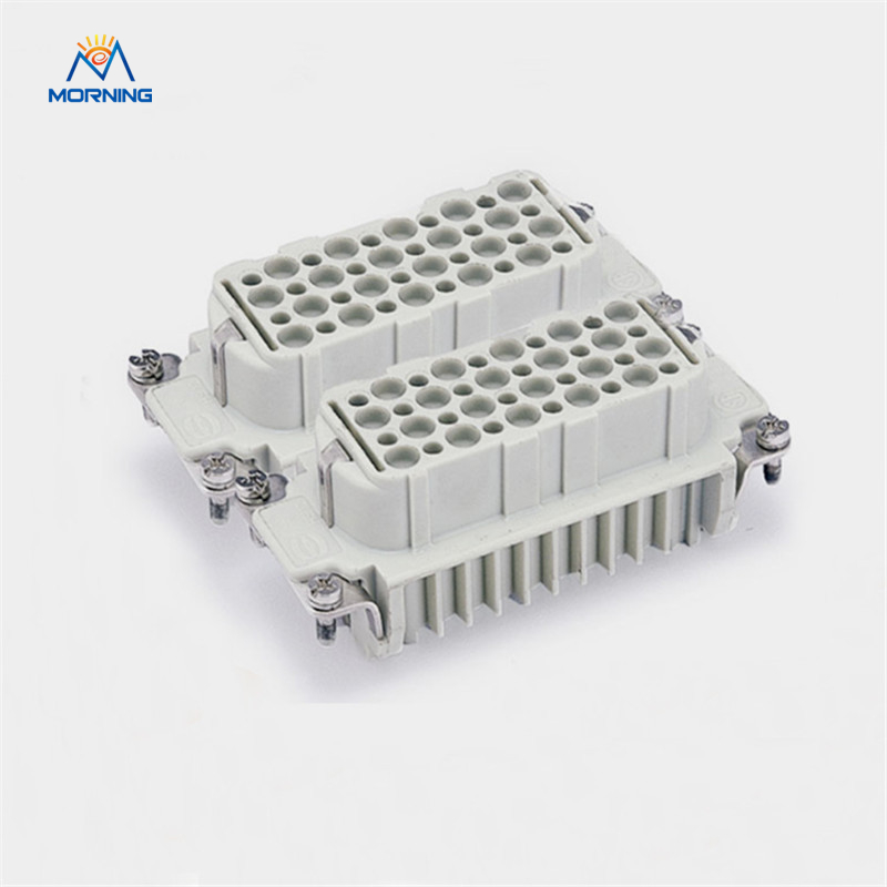 HD-080 Female Male FC MC Current 10A Voltage 250V Copper Alloy Material Crimp Terminal Bulkhead Mounting 80 Pin Connector hd 007 surface mounting silver plated surface crimp terminal current 10a male female 250v 7 pins connector