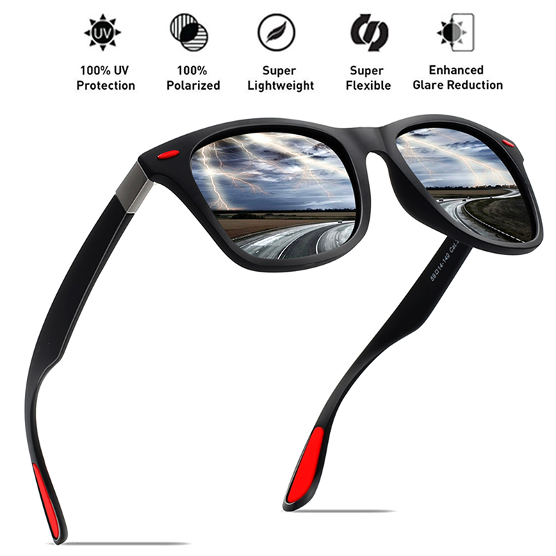 MAXJULI Sports Sunglasses Men Fishing Driving Glasses Polarized Sunglasses For Men TR90 Frame Eyewear Goggles UV400 F4195