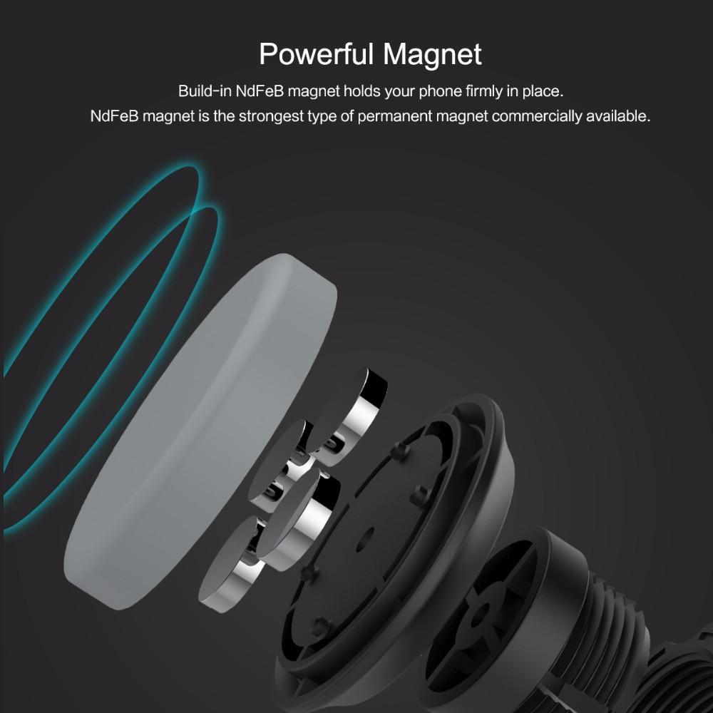 SKAŁA Obrotowy Uchwyt Magnetyczny Uchwyt Na Telefon Samochodowy Air Vent Outlet Magnes Uniwersalny Uchwyt Telefonu komórkowego Dla iphone Samsung stojak 1