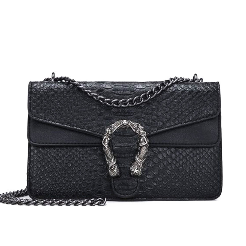 Fashion Brand Women Bags Alligator PU leather Messenger Bag Designer Chain Shoulder Crossbody Bag Women Handbag Bolso Mujer luxury womens bag alligator pu patent leather banquet clutch bag lady handbag fashion chain shoulder crossbody bag handbag party