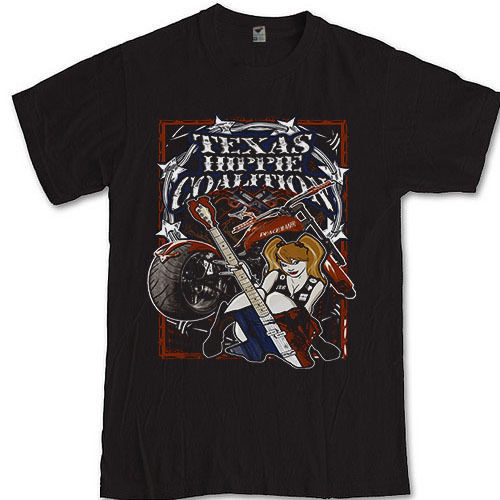 Texas Hippie Coalition THC tee heavy metal rock band S M L XL 2XL 3XL t-shirt