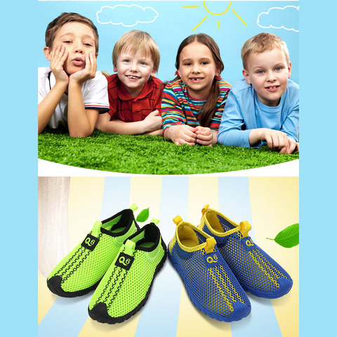 Children Trekking Shoes Summer Air Mesh Kids Sneakers for Boy Running Shoes  Sneaker Students Teenager Walking Sport Shoes Lahore