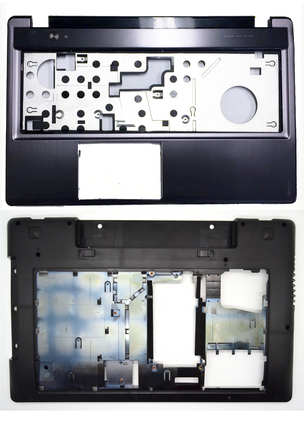 NEW For Lenovo Z580 Z585 Bottom Base Cover Case & Palmrest Upper Case