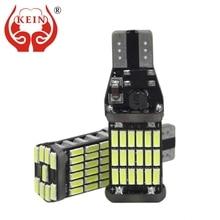 KEIN 2PCS 6000K T15 W16W 45SMD 921 912 Canbus Error Free car led Back up reverse lights Reverse Lamp Signal indicator auto Bulb